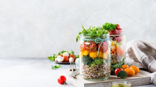 Quinoa-Salat to go
